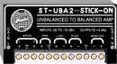 RDL ST-UBA2 AMPLIFIER Unbalanced to balanced, 2-channel