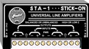 RDL STA-1 LINE AMPLIFIER Dual channel, balanced/unbalanced