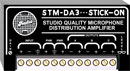 RDL STM-DA3 STICK-ON MODULE Microphone level distribution amplifier