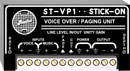 RDL ST-VP1 STICK-ON MODULE Voiceover / paging module