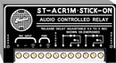 RDL ST-ACR1M AUDIO CONTROLLED RELAY Mic level, 0.5 to 5 second release delay