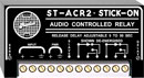 RDL ST-ACR2 STICK-ON MODULE Audio controlled relay, line level, extended release delay