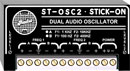RDL ST-OSC2A AUDIO OSCILLATOR Dual, sine wave, 1kHz and 10kHz