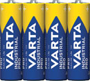 VARTA 4006 BATTERY, AA size, alkaline, 1.5V (pack of 4)