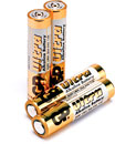 GP 24AU BATTERY, AAA size, alkaline, Ultra series (pack of 4)