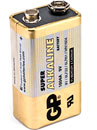 GP 1604A BATTERY, 1604 (PP3) size, alkaline, Super series