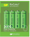 GP RECHARGEABLE BATTERIES - ReCyko+ Series