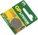 GP CR2430 BATTERY 24.5d x 3.0mm, lithium cell, 3V