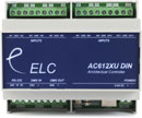 ELC LIGHTING AC612DIN DMX CONTROLLER 12x 512 DMX channel memory, DIN-rail connections, USB