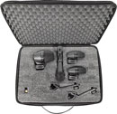 SHURE PGADRUMKIT4 MICROPHONE SET Drum set, 2x PGA56, 1x PGA57, 1x PGA52, case, includes cables