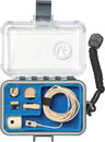 VOICE TECHNOLOGIES VT500WATER MINIATURE MICROPHONE Omni, waterproof, inc accessories/case, beige