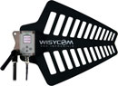 WISYCOM LFA F1 ANTENNA Wideband, remote controlled, BNC type connector, 410-1300MHz