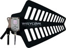 WISYCOM LFA F1 ANTENNA Wideband, remote controlled, N type connector, 410-1300MHz