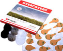 RYCOTE 065505 OVERCOVERS MIC MOUNTS Stickies and fur Overcovers, mixed (1pk of 30+6)