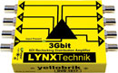 LYNX YELLOBRIK VIDEO DISTRIBUTION AMPLIFIERS - Analogue video and sync, 3G SDI