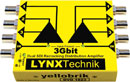 LYNX YELLOBRIK DVD 1823 DISTRIBUTION AMPLIFIER Video, dual 1x3, 3G/HD/SD SDI