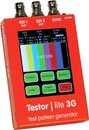 LYNX TESTOR LITE 3G - SDI video and audio test pattern generator