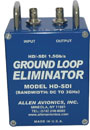 ALLEN AVIONICS SD AND 1.5G HD-SDI VIDEO GROUND LOOP HUM ELIMINATORS AND ISOLATORS
