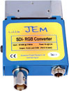 BPR JEM SDI TO SCART CONVERTER BNC in, RGB, CVBS out