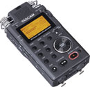 TASCAM DR-100 MKII PORTABLE RECORDER For SD / SDHC card, stereo, 4x inbuilt microphone, mic/line in