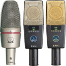 AKG MICROPHONES - Large diaphragm, condenser - Voice, instruments