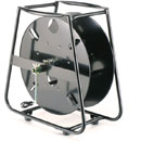 CANFORD CABLE DRUMS - Steel drum, fully-enclosed steel frame