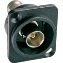 CANFORD BNC CONNECTORS - Female, panel - Back to back and solder - SD, HD, 3G, 12G - Universal (D) Series