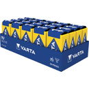 VARTA 4022 BATTERY, PP3 size, alkaline, 9V (pack of 20)