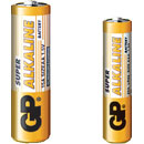 GP 24A BATTERY, AAA size, alkaline, Super series (pack of 4)