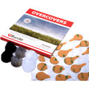 RYCOTE 065505 OVERCOVERS MICROPHONE MOUNTS Adhesive pads with furry covers (pack of 30+6)