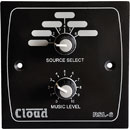 CLOUD RSL-6B REMOTE CONTROL PLATE Level and source, black