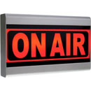 D&R ON-AIR LIGHT ILLUMINATED SIGN 12V DC, 1A external power, Red