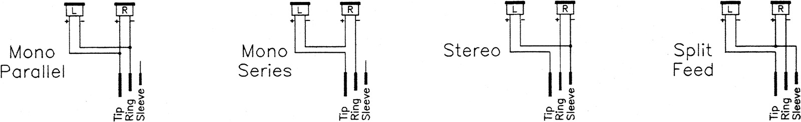 Headphone wiring conventions